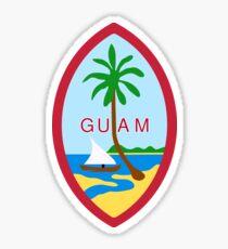 Guam State Seal Sticker Sticker