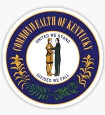 Kentucky State Seal Sticker Sticker