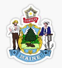 Maine State Seal Sticker Sticker