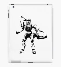 Crab Spartan - BiLevel Clear iPad Case/Skin