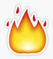 Flame Emoji Sticker