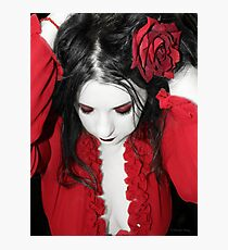 Scarlet Photographic Print