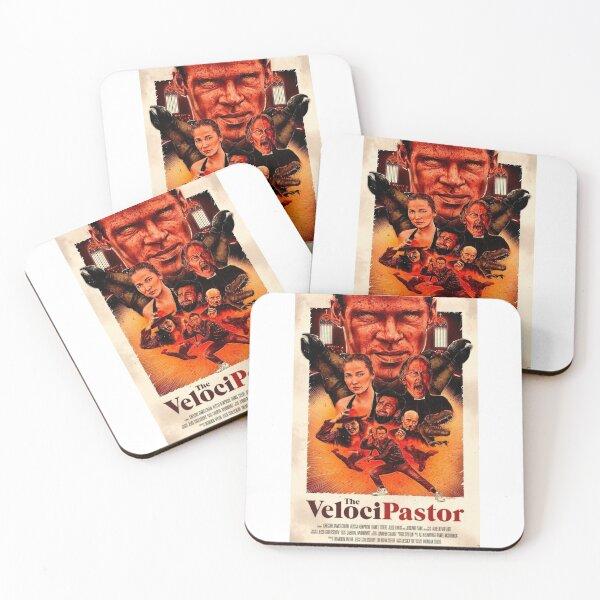 Trash Velocipastor Coasters (Set of 4)
