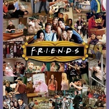 Friends Collage by yaffalou