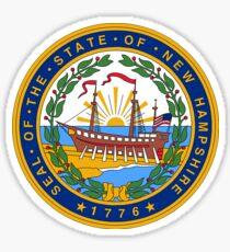 New Hampshire State Seal Sticker Sticker