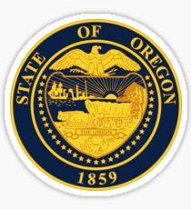Oregon State Seal Sticker Sticker