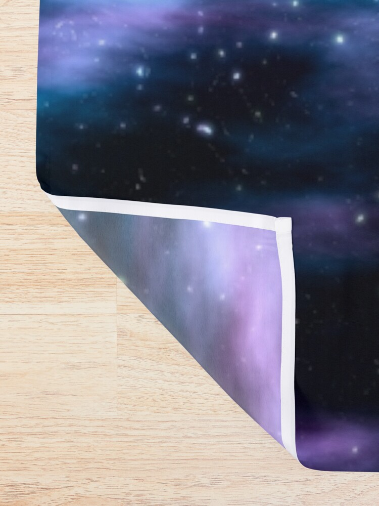 Alternate view of Starry sky Shower Curtain
