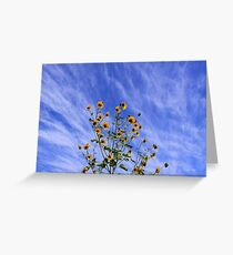 Autumn Rush Greeting Card
