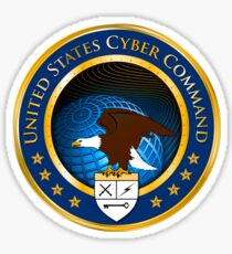 United States Cyber Command Emblem Sticker Sticker