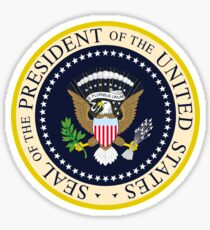 US President Seal Sticker Sticker
