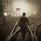 Looking For America... by Karen  Helgesen