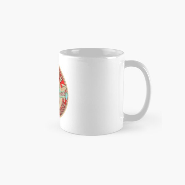 Allchin Traction Engine Logo Classic Mug
