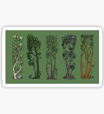 Five Trees/Green Sticker
