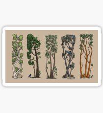 Five Trees/Summer Sticker