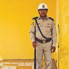 Royal Palace Guard - Phnom Penh, Cambodia by Anthony and Kelly Rae