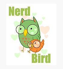 Nerd Bird Photographic Print