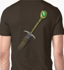 Hawk the Slayer (Mind Sword Back) T-Shirt