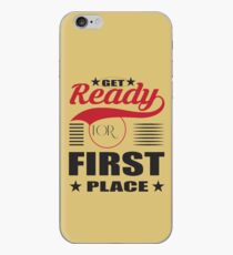 Get ready for first place. iPhone Case