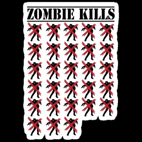 Zombie Kills by Iain Maynard