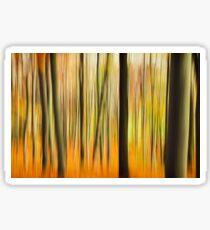Autumn Forest Colors Sticker