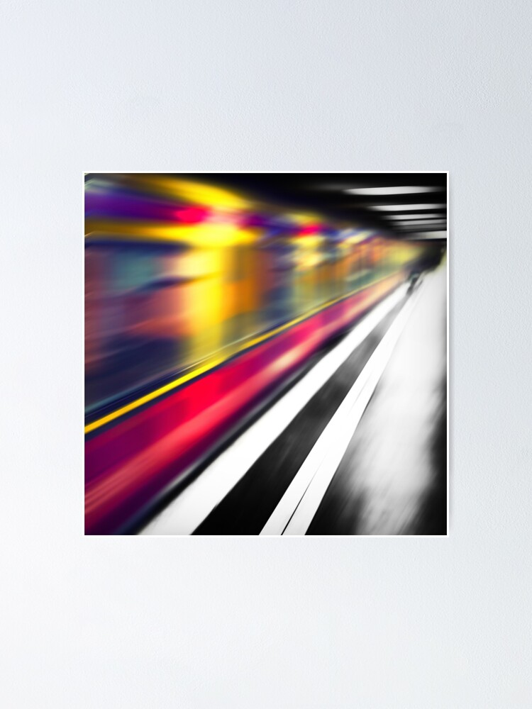 Alternate view of Berlin S-Bahn Speed Poster