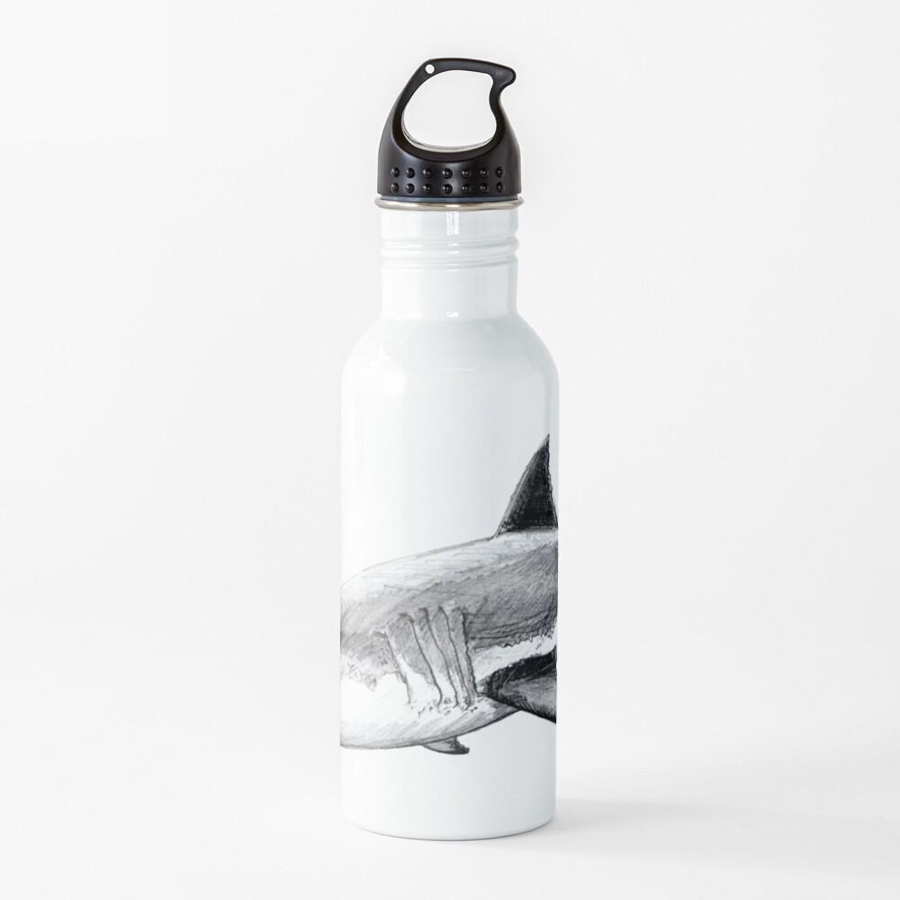 Great white shark Water Bottle
