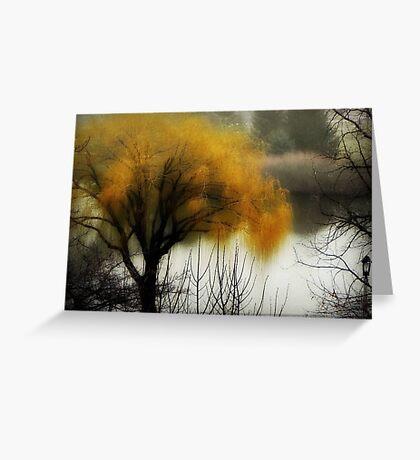 The fog rolls in... © Greeting Card