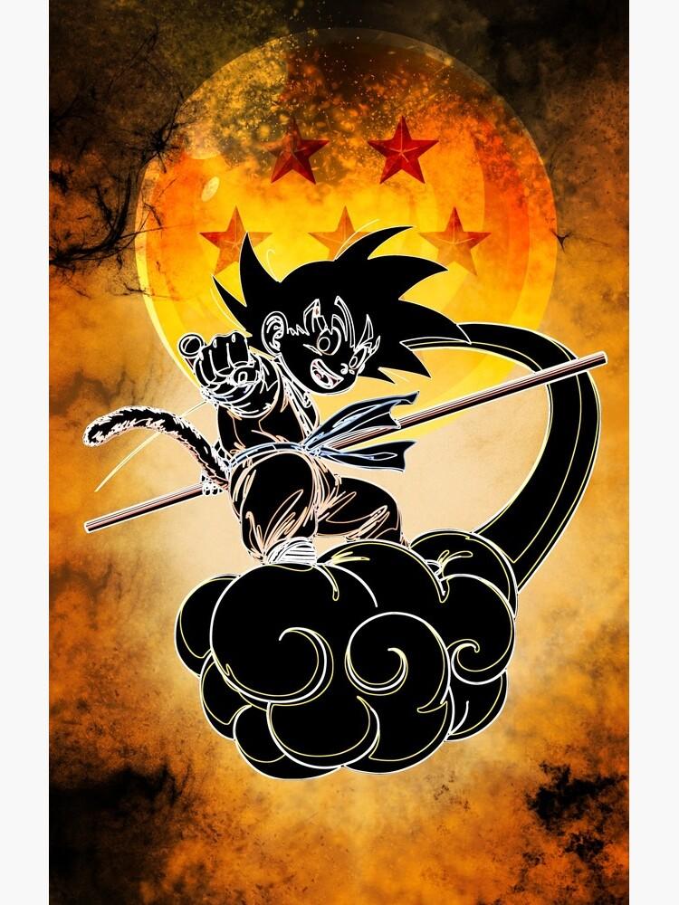 Kid Goku Awakening by ryukrabit