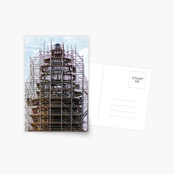 Scaffolding Postcard