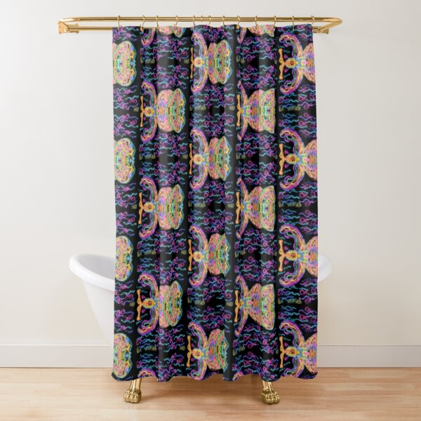 Ichthus fishes Shower Curtain