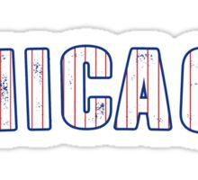 MLB City - Chicago (Cubs) Sticker