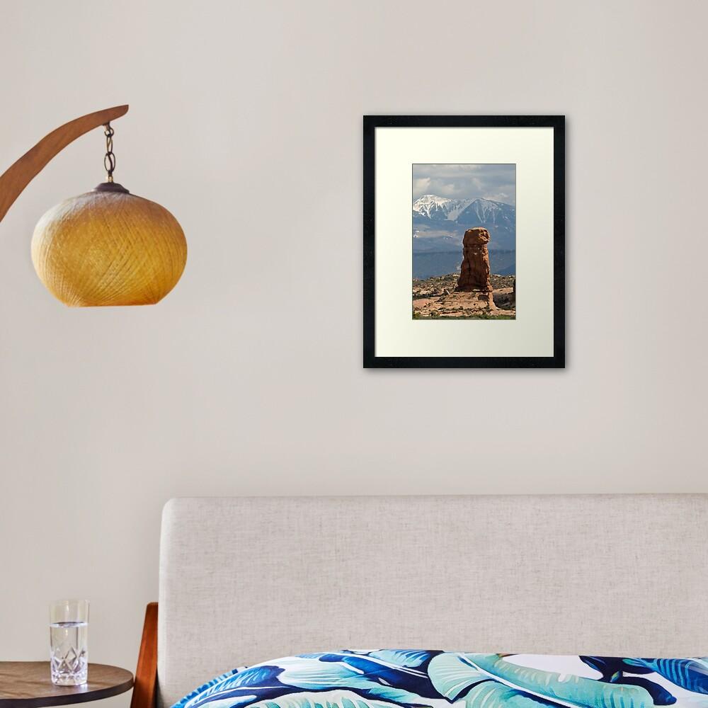 Elephant Butte Framed Art Print