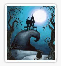 Haunted Mansion on Old Witch Hill  Sticker