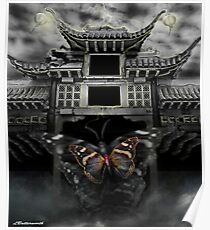 THE BUTTERFLY EFFECT (Does the flap of a butterfly's wings in China set off a tornado in Texas) Poster