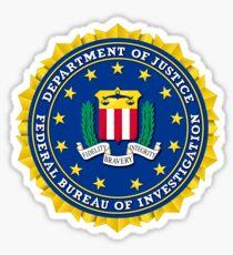 FBI Federal Bureau of Investigation Seal Sticker Sticker