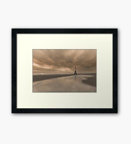 Channel Marker Framed Print