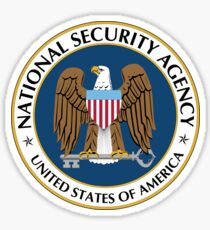 NSA National Security Agency Seal Die Cut Sticker Sticker
