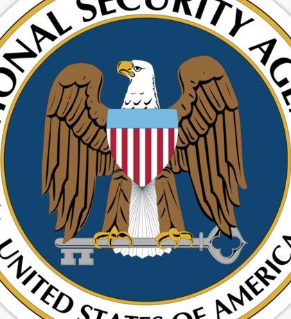 NSA National Security Agency Seal Die Cut Sticker Sticker