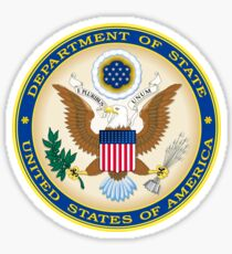 US State Department Seal Sticker Sticker