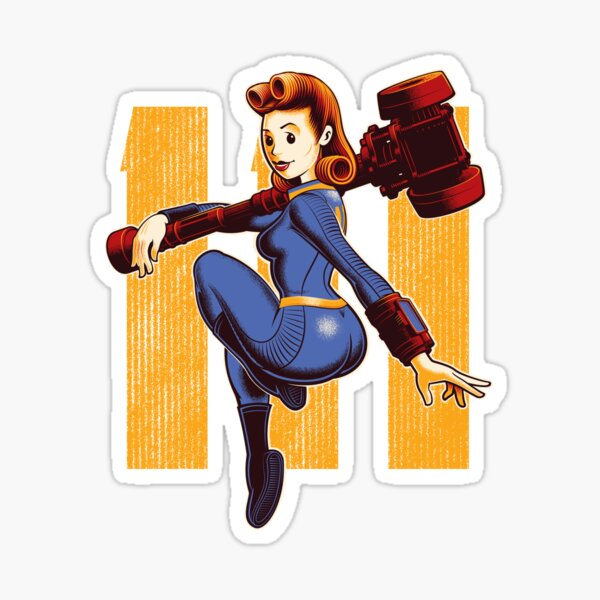 Vault Girl Sticker