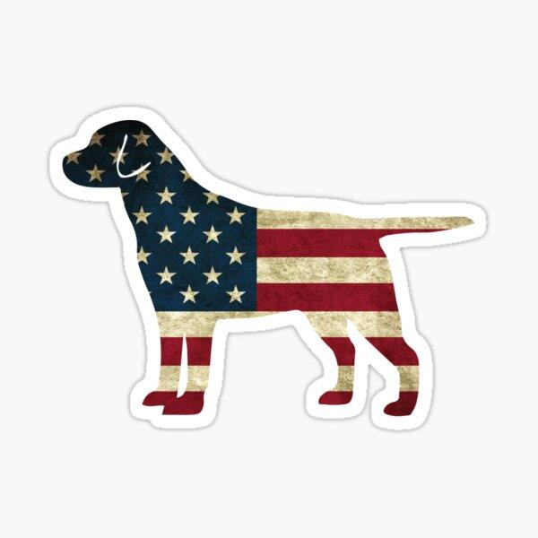 Chien américain Sticker