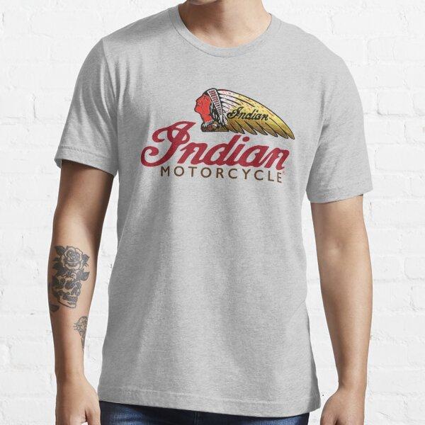 Motocicleta india Camiseta esencial