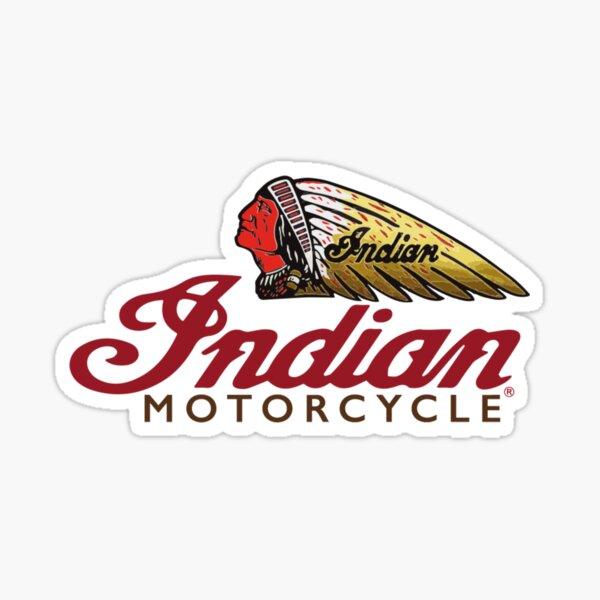 Moto indienne Sticker