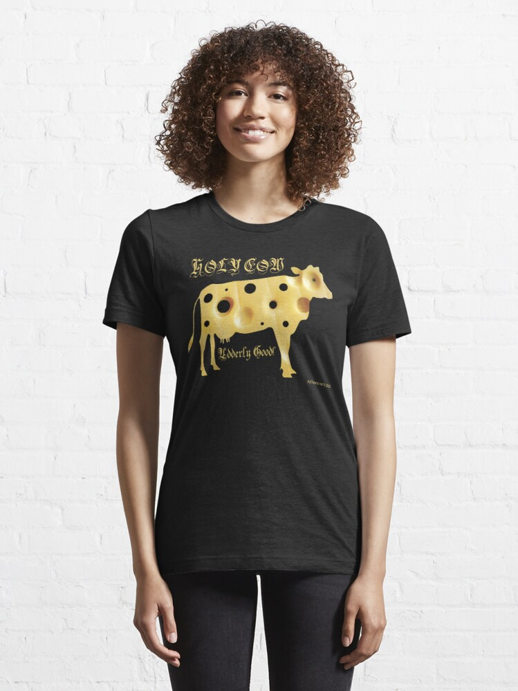 Alternate view of Holy Cow Essential T-Shirt