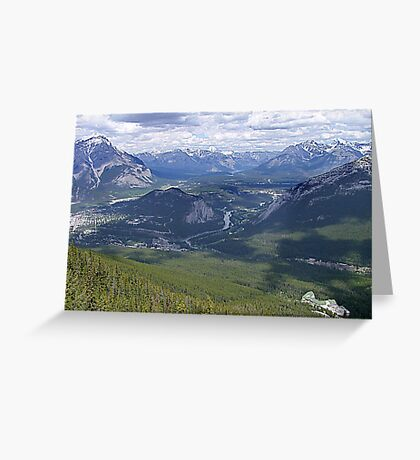 Banff and The Bow River Valley Greeting Card