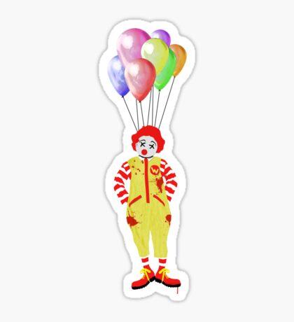 Kill That Creepy Clown Sticker