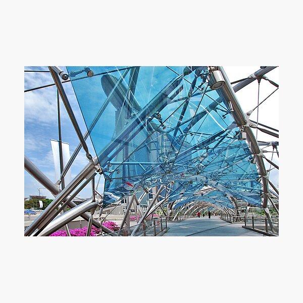 The Helix Bridge 5 Photographic Print