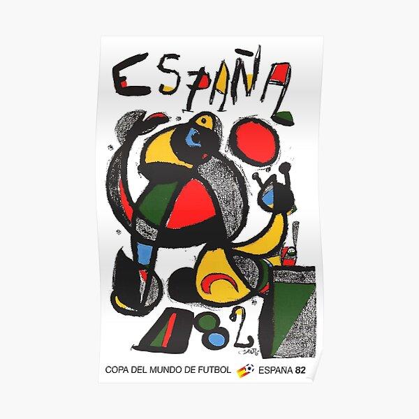 Copa del Mundo de Futbol España 82 Poster