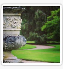formal garden Sticker