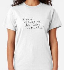 Roddy Ricch, Roddy Ricch Please Excuse Me For Being Antisocial, Roddy Ricch T-Shirts Hoodies & More Classic T-Shirt